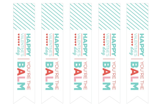 you're the balm printable tags - skinny